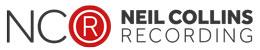 neilcollinsrecording.com Logo